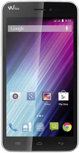 WIKO Lenny Smartphone 12.7 cm (5 Zoll) 1.3 GHz Dual Core 4 GB 5 Mio. Pixel Android™ 4.4.2 Weiß