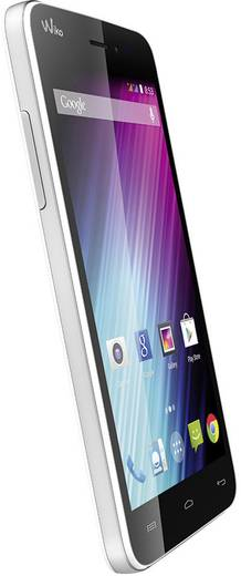 WIKO Lenny Dual-SIM Smartphone 12.7 cm (5 Zoll) 1.3 GHz Dual Core 4 GB 5 Mio. Pixel Android™ 4.4.2 Weiß