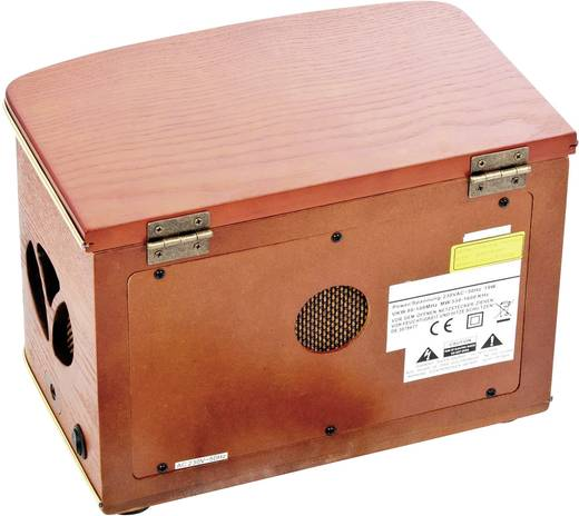 UKW Tischradio Dual NR 1 CD AUX, CD, MW, UKW Holz