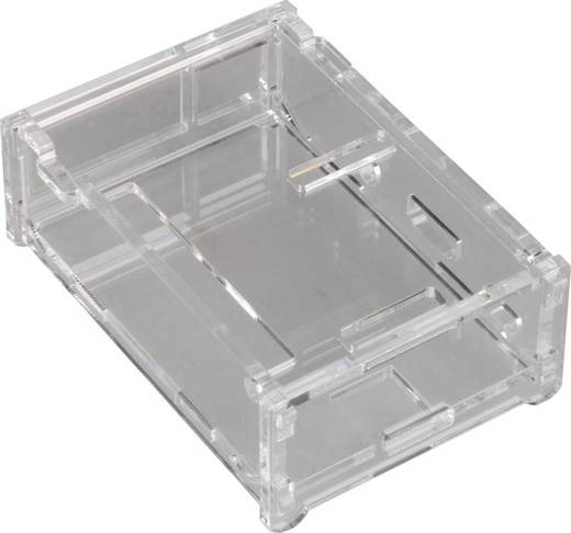 Raspberry Pi® B+ Gehäuse Transparent RB-Case+01
