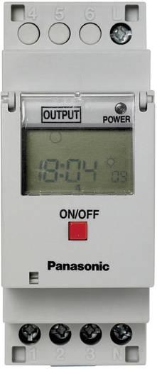 Zeitschaltuhr für Hutschiene Betriebsspannung: 230 V/AC Panasonic TB6210187 1 Wechsler 16 A 250 V/AC Wochenprogramm