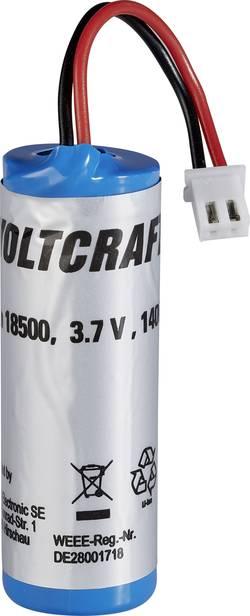 Náhradní Li-Ion akumulátor 18500 pro IR teploměr Voltcraft IR1000-50CAM