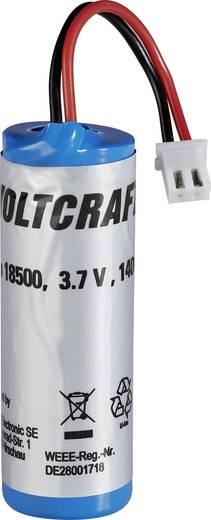 VOLTCRAFT 18500 Li-Ion Ersatzakku Typ 18500, Passend für (Details) IR-Thermometer IR1000-50CAM, IR-1600 CAM 18500