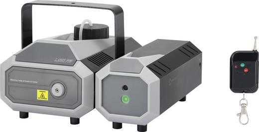 Renkforce FL-01RG Nebelmaschine inkl. Funkfernbedienung, inkl. Kabelfernbedienung, mit Lichteffekt, inkl. Befestigungsbü