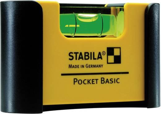 Mini-Wasserwaage 7 cm Stabila Pocket Basic 18114 1 mm/m Kalibriert nach: Werksstandard (ohne Zertifikat)