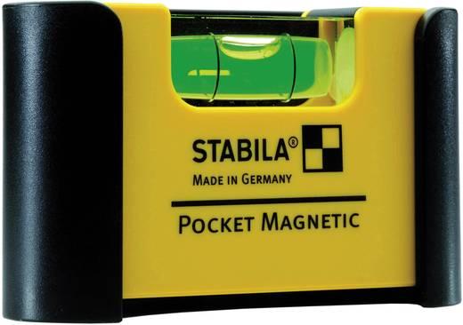 Mini-Wasserwaage 7 cm Stabila Magnetic 18116 1 mm/m Kalibriert nach: Werksstandard (ohne Zertifikat)