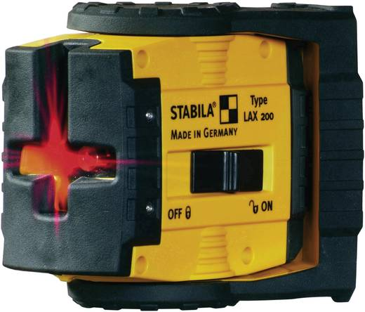 Punktlaser selbstnivellierend Stabila LAX 200 Reichweite (max.): 20 m Kalibriert nach: Werksstandard (ohne Zertifikat)