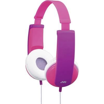 JVC HA-KD5-P-E Kinder Kopfhörer On Ear Lautstärkebegrenzung, Leichtbügel Pink, Lila Preisvergleich