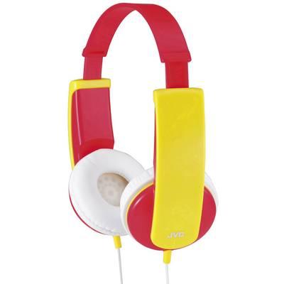 JVC HA-KD5-R-E Kinder Kopfhörer On Ear Lautstärkebegrenzung, Leichtbügel Rot, Gelb Preisvergleich