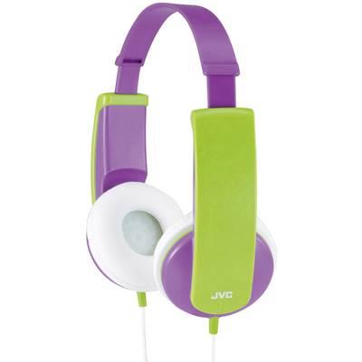 JVC HA-KD5-V-E Kinder Kopfhörer On Ear Lautstärkebegrenzung, Leichtbügel Lila, Grün Preisvergleich