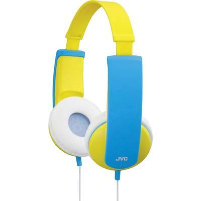 JVC HA-KD5-Y-E Kinder Kopfhörer On Ear Lautstärkebegrenzung, Leichtbügel Gelb, Blau Preisvergleich