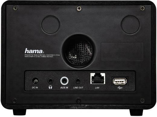 Internet Tischradio Hama IR110 AUX, Internetradio, USB Spotify Schwarz