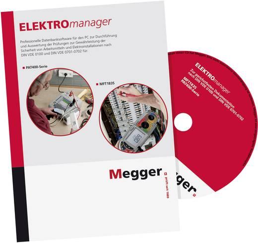 Megger DE-SW-EM9-ADDB AddIn-Gruppe B (Installationstester) für ELEKTROmanager 9, Passend für (Details) PAT410, PAT420,