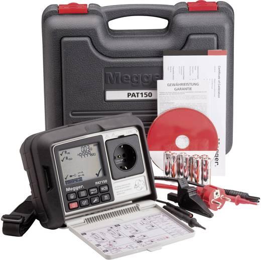 Megger PAT150-DE Kalibriert nach DAkkS DIN VDE 0701-0702, DGUV Vorschrift 3, BGV A3, EN 62638