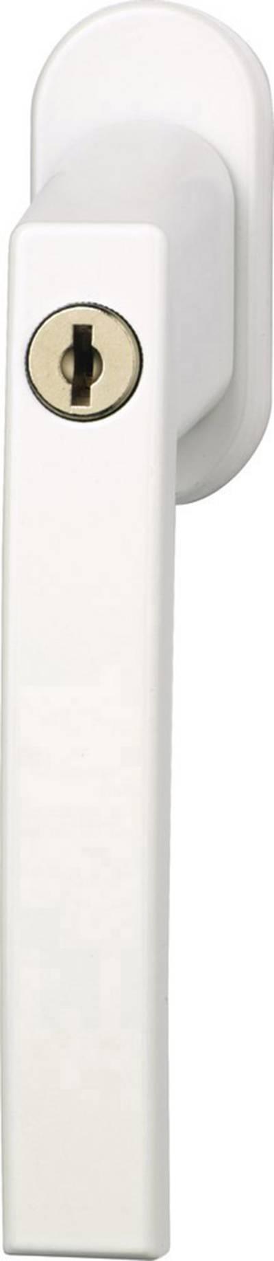 Maniglia con serratura per finestra Bianco ABUS ABFS30215
