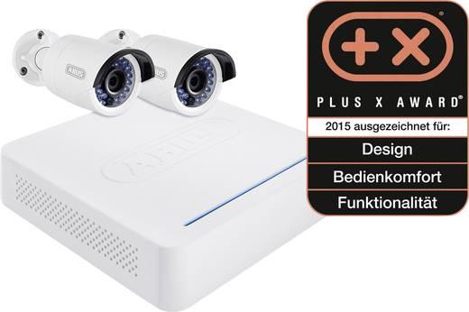 lan berwachungskamera set 4 kanal mit 2 kameras 1280 x 960 pixel 1 tb abus tvvr36210. Black Bedroom Furniture Sets. Home Design Ideas
