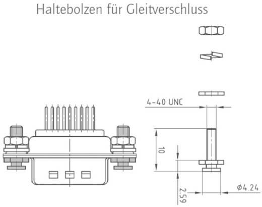 D-SUB Gehäuse Conec 160X10209X 1 St.
