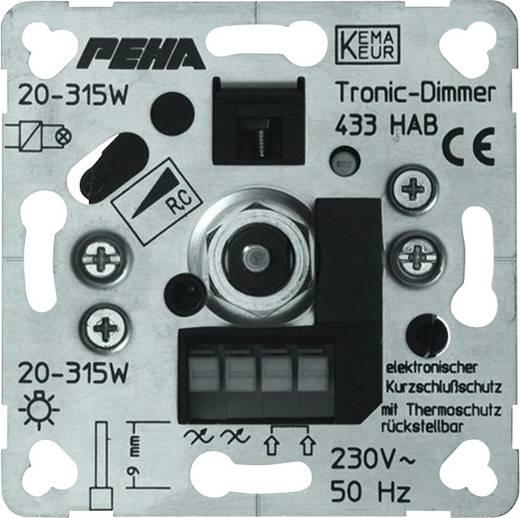 PEHA by Honeywell 1 Stück Einsatz Dimmer PEHA Aluminium D 433 HAB O.A.