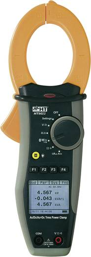 HT Instruments HT9022 Stromzange, Hand-Multimeter digital Kalibriert nach: DAkkS Grafik-Display CAT III 1000 V, CAT IV 6