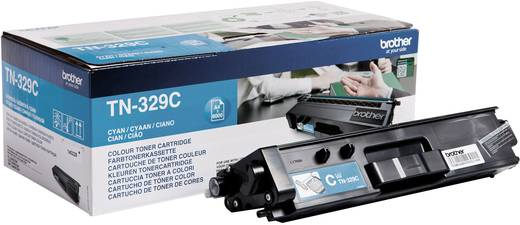 Brother Toner TN-329C TN329C Original Cyan 6000 Seiten
