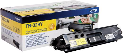 Brother Toner TN-329Y TN329Y Original Gelb 6000 Seiten