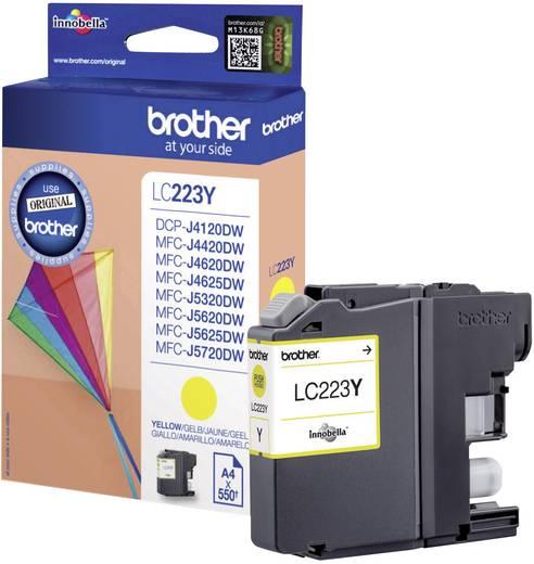 Brother Tinte LC-223Y Original Gelb LC223Y
