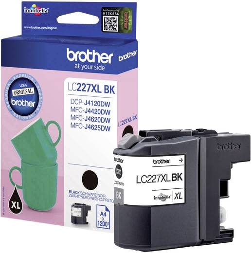 Brother Tinte LC-227XLBK Original Schwarz LC227XLBK