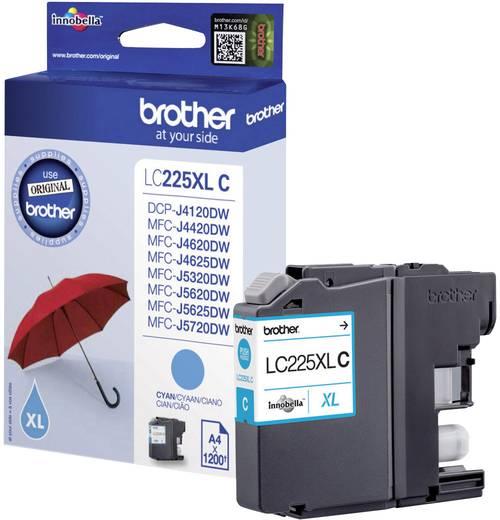 Brother Tinte LC-225XLC Original Cyan LC225XLC