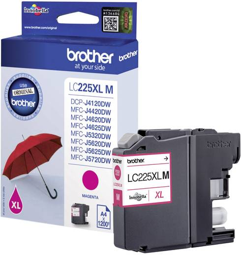 Brother Tinte LC-225XLM Original Magenta LC225XLM