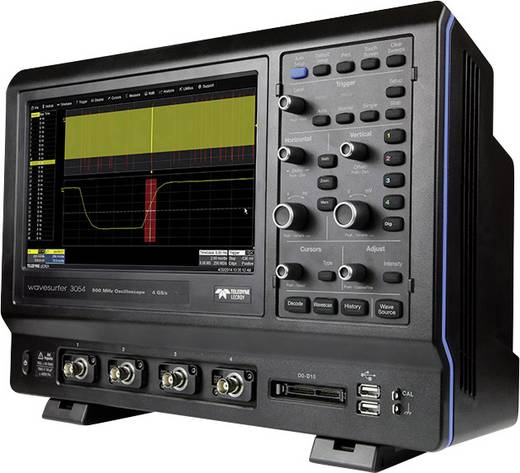 Digital-Oszilloskop LeCroy WaveSurfer 3054 500 MHz 4-Kanal 2 GSa/s 10 Mpts 8 Bit Digital-Speicher (DSO)