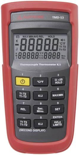 Temperatur-Messgerät Beha Amprobe TMD-53 Thermometer, Typ K/J -50 bis +1350 °C Fühler-Typ K, J Kalibriert nach: Werksstandard