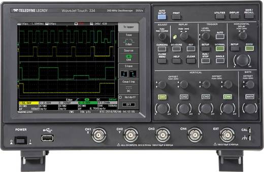 Digital-Oszilloskop Teledyne LeCroy WJ334 Touch 350 MHz 4-Kanal 1 GSa/s 2.5 Mpts 8 Bit Digital-Speicher (DSO)