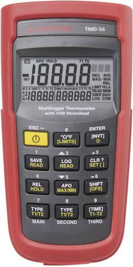 Temperatur-Messgerät Beha Amprobe TMD-56 -50 bis +1350 °C Fühler-Typ E, J, K, N, R, S, T Kalibriert nach: ISO