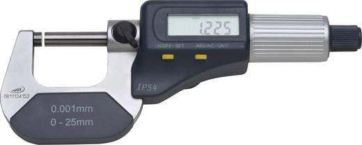 Bügelmessschraube mit digitaler Anzeige 0 - 25 mm Helios Preisser 0912501 Ablesung: 0.001 mm Werksstandard (ohne Zerti