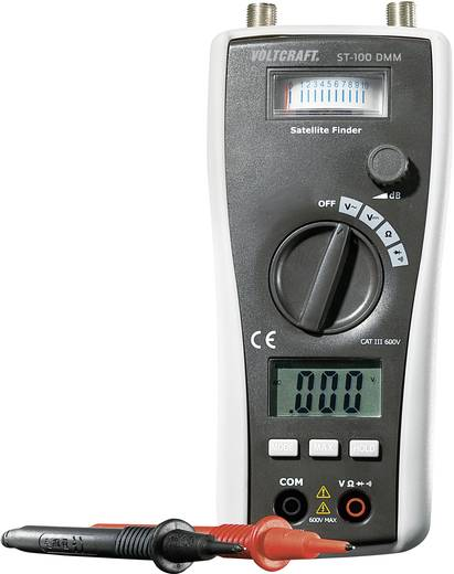 Hand-Multimeter digital VOLTCRAFT ST-100 DMM Kalibriert nach: Werksstandard (ohne Zertifikat) Sat-Messfunktion CAT III 6