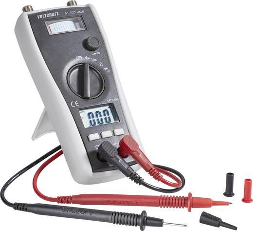 VOLTCRAFT ST-100 DMM Hand-Multimeter digital Kalibriert nach: Werksstandard (ohne Zertifikat) Sat-Messfunktion CAT III 6