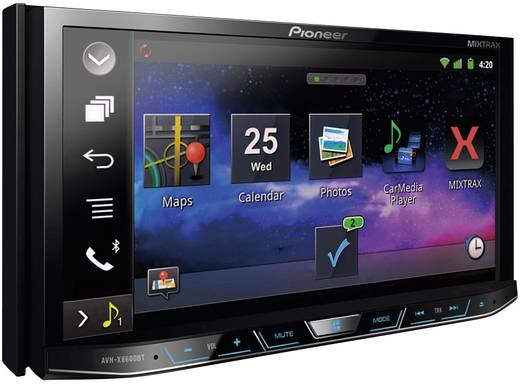 pioneer avh x8600bt doppel din moniceiver. Black Bedroom Furniture Sets. Home Design Ideas