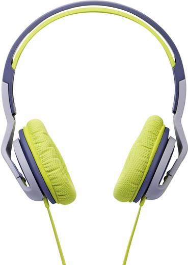 SOUL ST20GENA Transform Sport Kopfhörer On Ear Headset, Lautstärkeregelung, Schweißresistent Grün, Grau