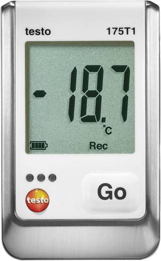 Temperatur-Datenlogger testo 175 T1 Messgröße Temperatur -35 bis 55 °C Kalibriert nach Werksstandard (ohne Zerti