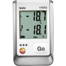Teplotný datalogger testo 175 T2, Merné veličiny teplota