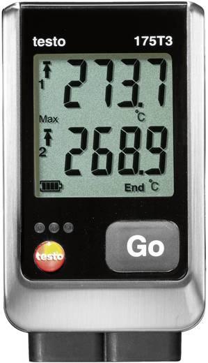 Temperatur-Datenlogger testo 175 T3 Messgröße Temperatur -50 bis 1000 °C Kalibriert nach Werksstandard (ohne Zer