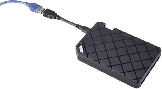 SATA-Festplatten-Gehäuse 2.5 Zoll Renkforce RF-3704346 mit Anti-Schock-System USB 3.0