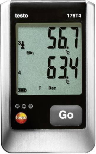 Temperatur-Datenlogger testo 176 T4 Messgröße Temperatur -200 bis 1000 °C Kalibriert nach Werksstandard (ohne Ze