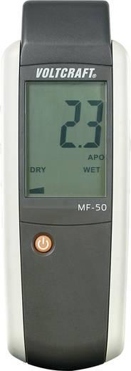 Materialfeuchtemessgerät VOLTCRAFT MF-50 Messbereich Baufeuchtigkeit (Bereich) 0 bis 60 % vol Messbereich Holzfeuchtigkeit (Bereich) 0 bis 80 % vol