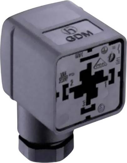 Ventilstecker GDM21FA-L14 Transparent GDM21FA-L14 Pole:2 + PE Belden Inhalt: 1 St.