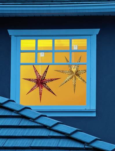 Polarlite LBA-53-001 Fenster-Dekoration Stern Warm-Weiß LED Rot