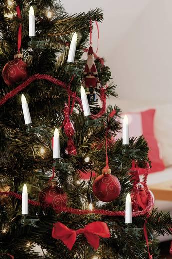 Weihnachtsbaum-Beleuchtung Innen netzbetrieben 16 LED Warm-Weiß Beleuchtete Länge: 12 m Polarlite LCA-01-003