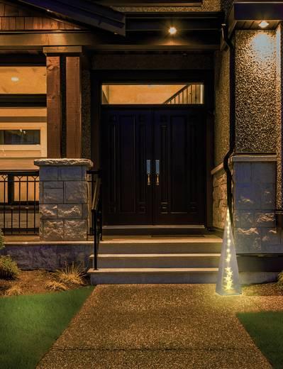 LED-Weihnachtsdekoration Pyramide Warm-Weiß LED Polarlite PDE-04-002 Transparent