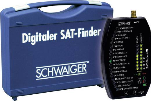SAT Finder Schwaiger SF9002 + Koffer