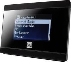 Internetové, FM rádio s výstupem bez reproduktoru Dual IR 2A, Wi-Fi, černá